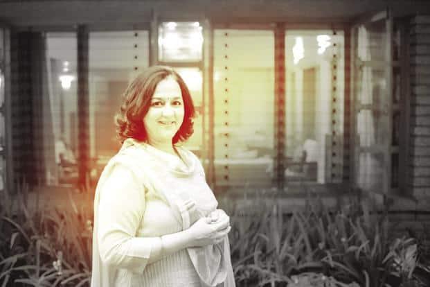 Rohini Nilekani says open data platforms should be created to make invisible water visible. Photo: Abhishek B.A./Mint