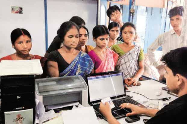 The Pradhan Mantri Jan Dhan Yojana (PMJDY) programme—launched in 2015 with a mission to provide a basic account to every adult—has enrolled more women than men. Photo: Bloomberg
