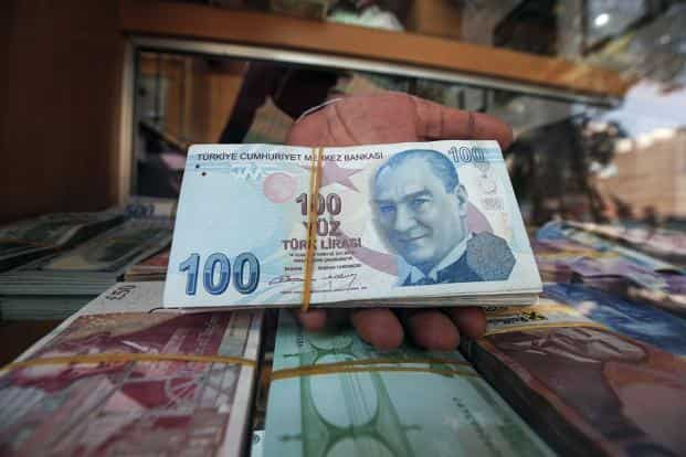 The Turkish Lira Weakened Past 7 23 Per Dollar Amid Thin Volume Before Paring Losses After