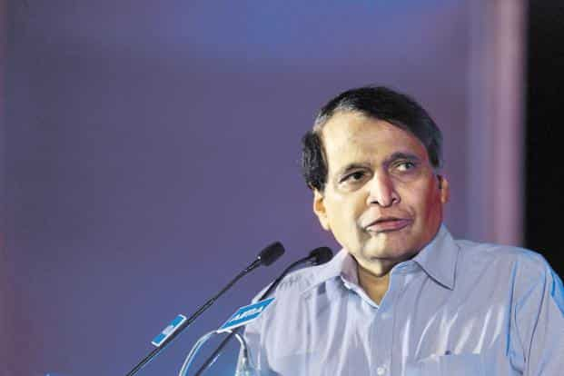Civil aviation minister Suresh Prabhu says airlines are struggling with high cost of fuel not just in India, but across the world. Photo: Pradeep Gaur/Mint