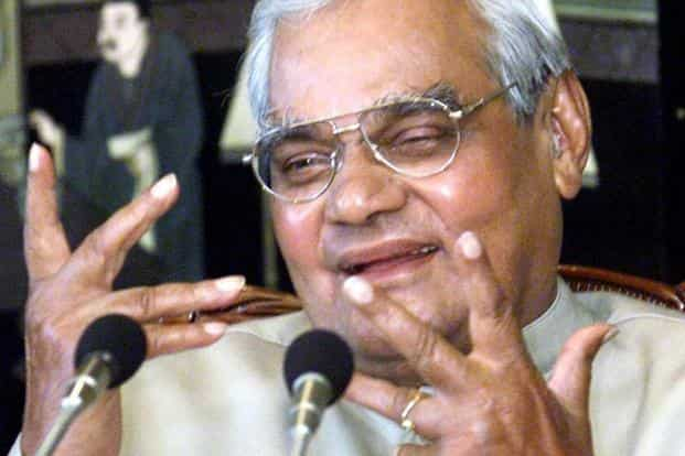 Former prime minister Atal Bihari Vajpayee, 93, died in  AIIMS on Thursday. Photo: PTI