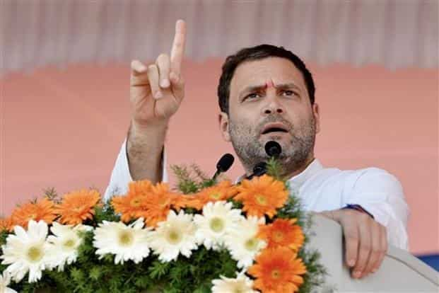Congress chief Rahul Gandhi.