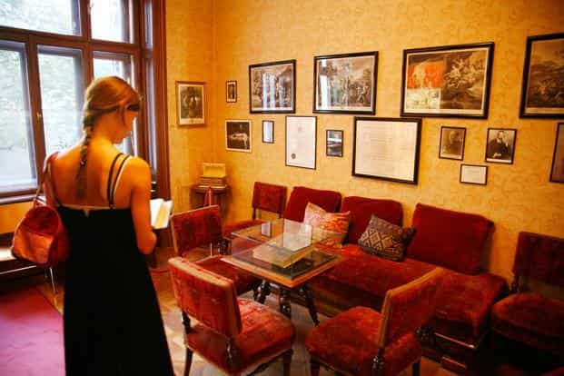 The Sigmund Freud Museum in Vienna. Photo: Alamy