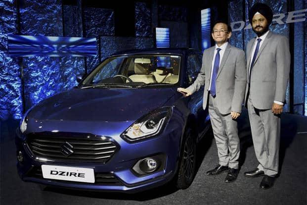 The Maruti Suzuki Dzire has overtaken the Alto as India's best selling car. Photo: PTI