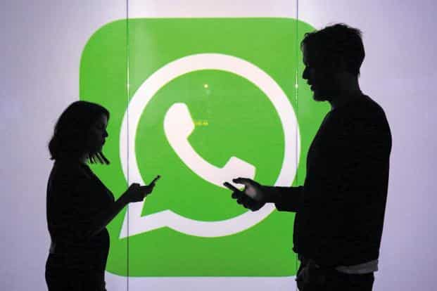 WhatsApp has more than 200 million monthly active users in India. Photo: Bloomberg