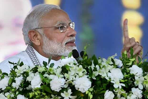 The wonderful homes under PMAY are being made possible because there are no middlemen, Prime Minister Narendra Modi said. Photo: PTI.
