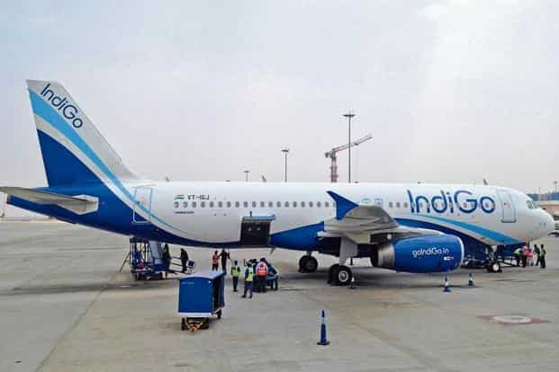 File photo of an IndiGo aircraft. India's aviation regulator, Directorate General of Civil Aviation, had in March grounded 11 Airbus A320neo planes, including eight belonging to IndiGo.  Photo: Reuters