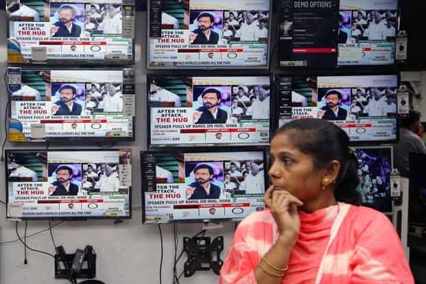 The number of TV owning individuals in the five south states, Tamil Nadu, Andhra Pradesh, Telangana, Karnataka and Kerala is 259 million, the survey said, an increase of 8% from 2016. Photo: Reuters