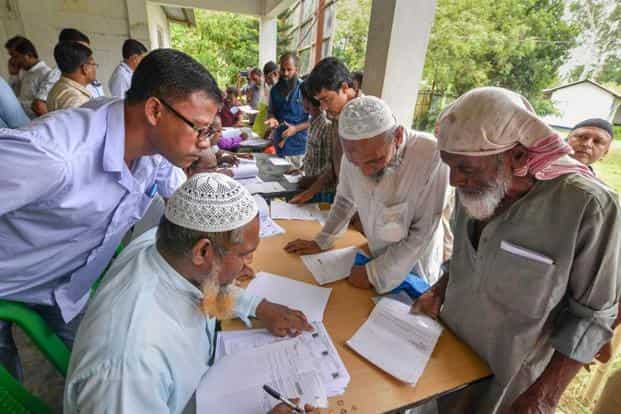 Nearly 85% of members per household were left out of NRC in Nellie, Assam.