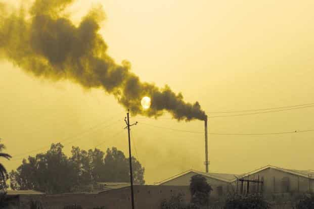 Currently, India's CO2 emission from energy is the fourth highest in the world, but is less than a quarter of China's and half the US's levels.  Photo: Mint