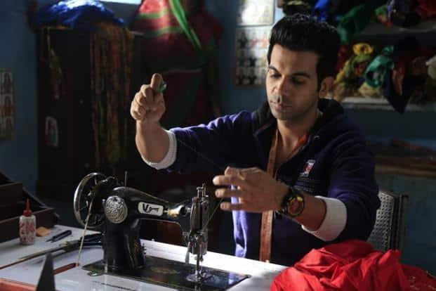 Rajkummar Rao in a still from 'Stree'.