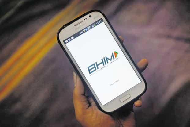 Of the total UPI transactions in August, 16.5 million took place through the Bharat Interface for Money (BHIM) platform. Photo: Abhijit Bhatlekar/Mint