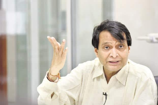 Commerce minister Suresh Prabhu. Photo: HT