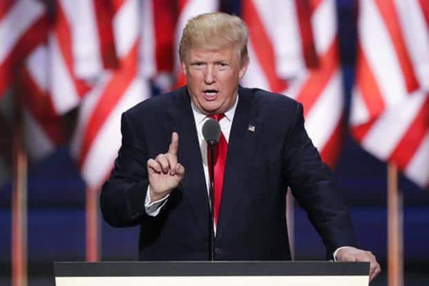 US President Donald Trump. Photo: AP