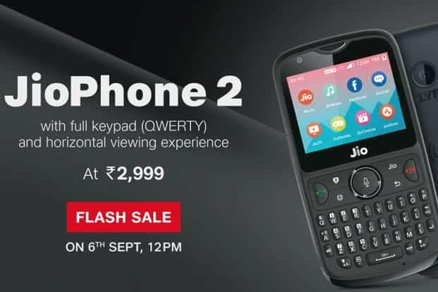 JioPhone 2 third flash sale today: Price, specifications