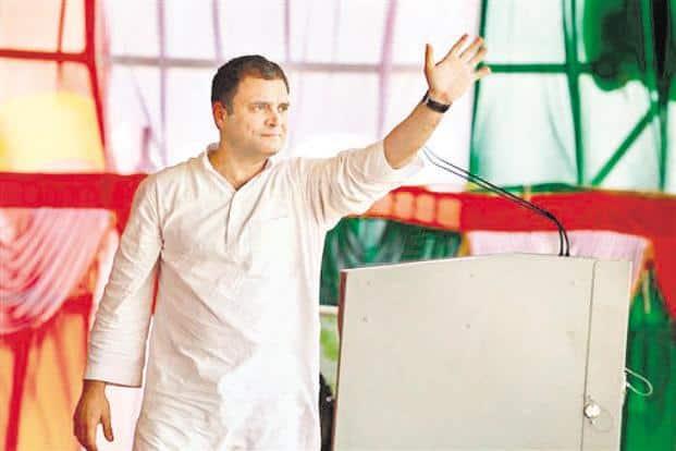 Congress president Rahul Gandhi. Photo: PTI