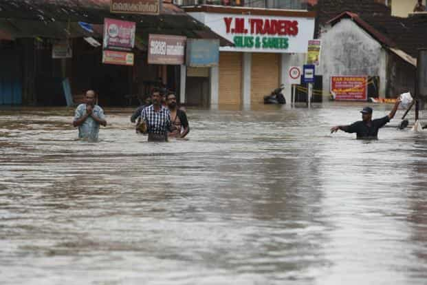 The app, designed by researchers of Amrita Vishwa Vidyapeetham University for disaster management, has rescued thousands in flood-hit Kerala. Photo: Raj K Raj/HT