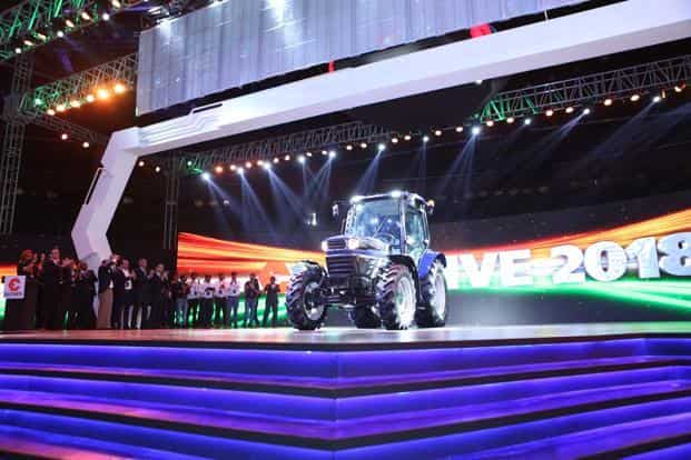 Driverless tractors may soon help farmers till their lands