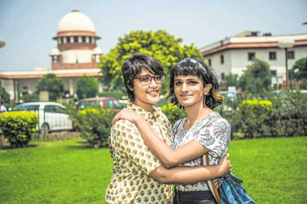 Between 1990 and 2014, Indians who believed 'homosexuality is never justifiable' fell from 89% to 24%, shows data. Photo: Pradeep Gaur/Mint