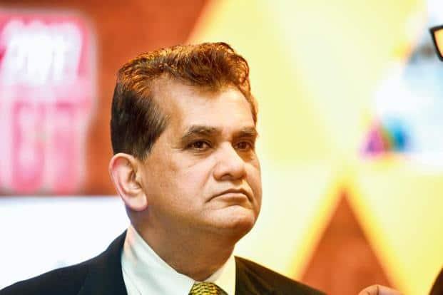 Niti Aayog chief executive Amitabh Kant.