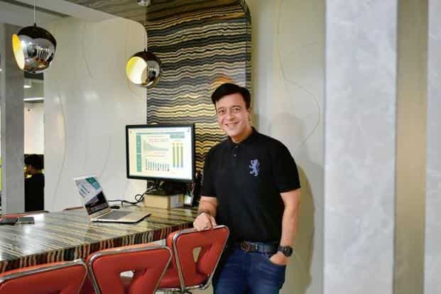 Umang Bedi operates from meeting rooms at the Bengaluru office of Dailyhunt
