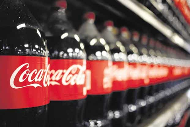 Coke's possible foray into the marijuana sector comes as beverage makers are trying to add cannabis as a trendy ingredient while their traditional businesses slow. Photo: Bloomberg