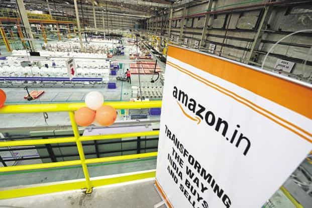 Amazon seems to have adopted the strategy of benefiting from partner firms' offline presence while offering them access to its online platform. Photo: Ramesh Pathania/Mint