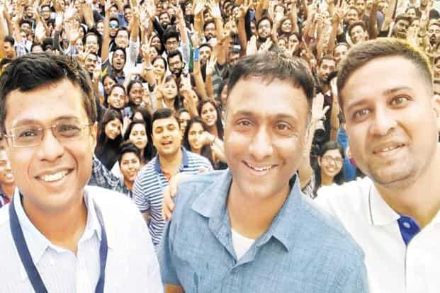 (From left) Flipkart founder Sachin Bansal, CEO Kalyan Krishnamurthy and Flipkart Group CEO and chairman  Binny Bansal. Walmart is considering a move to separate the responsibilities of chairman and group CEO.