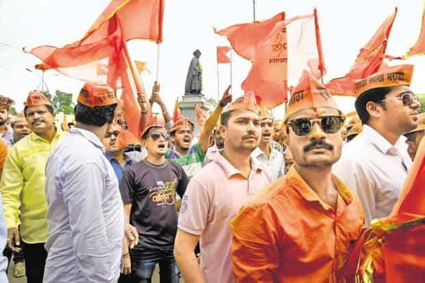 There is an increasing demand from caste groupings like the Marathas and Jats to be included in reservation quotas. Photo: Abhijit Bhatlekar/Mint
