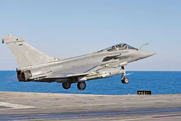 Rafale fighter jet. Congress says the scam has exposed rampant corruption in the govt. Photo: Reuters.