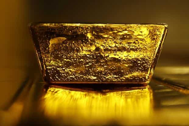 ... Gold prices have been building a base around $1,200. Photo: Bloomberg