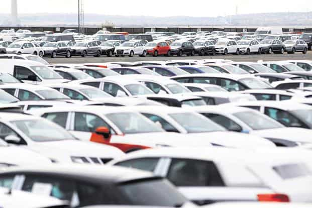 The increase in inventory is also caused by additional capacities and resultant higher factory dispatches by auto makers in their battle for market share. Photo: Reuters