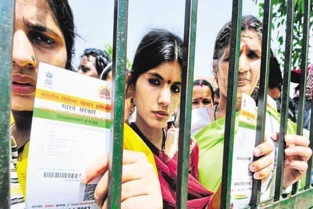 Supreme Court says Aadhaar card is mandatory for getting a PAN card, filing ITR but not for mobile phone connections and bank accounts. Photo: Priyanka Parashar/Mint