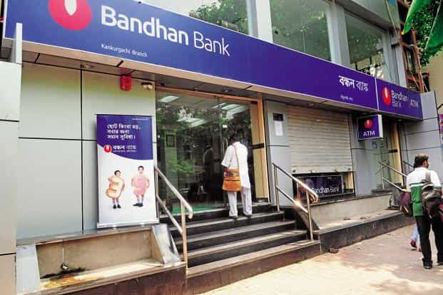 According to the guidelines, the bank's promoter, Bandhan Financial Holdings Ltd, has to reduce its stake from 82% to 40% within three years of commencing the business. Photo: Indranill Bhoumik/Mint