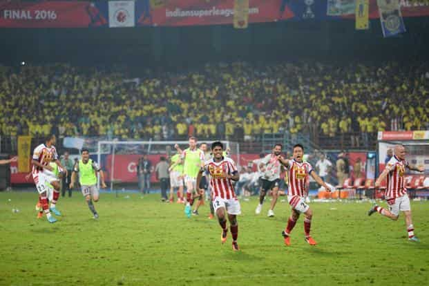 What happens off the field in the pull and push between ISL and I-League will have a bearing on where Indian football goes from here. Photo: AFP