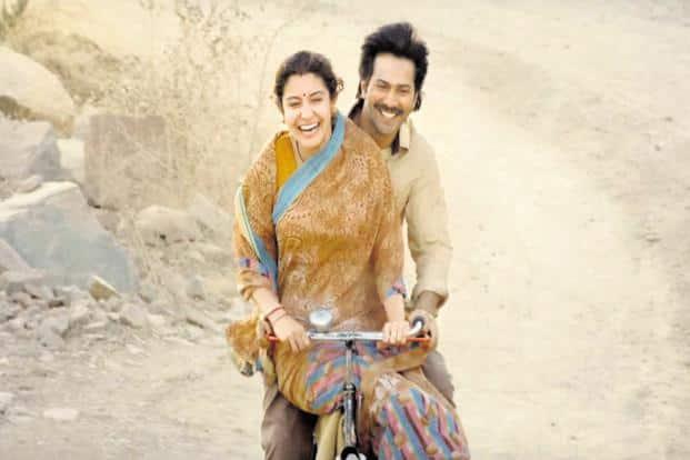 Anushka Sharma and Varun Dhawan in a still from 'Sui Dhaaga'.
