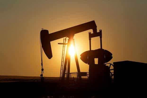 Brent crude oil futures were at $84.86 per barrel at 9.10am, up 6 cents from their last close. Photo: Reuters