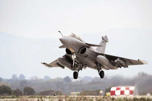 Anil Ambani-controlled Reliance Infrastructure Ltd has a 51:49 joint venture with Dassault, the maker of Rafale, which has an offset contract of about ₹30,000 crore for 36 Rafale aircraft. Photo: AFP