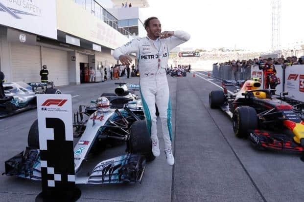 Mercedes' Lewis Hamilton won the Japanese Grand Prix on 7 October. Photo: Reuters