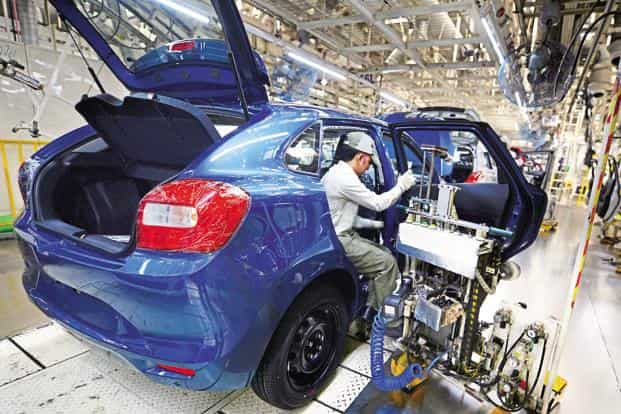 Maruti Suzuki had to stop production for two days in August as supply from the vendor, Krishna Maruti Ltd, stopped due to water-logging. Photo: Ramesh Pathania/Mint