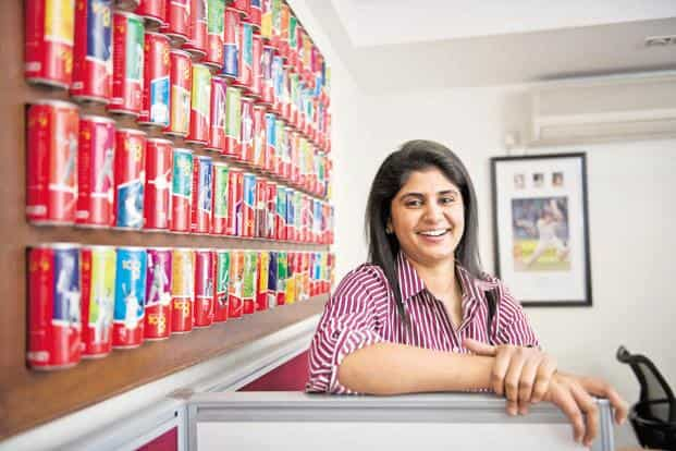 Universal Sportsbiz founder Anjana Reddy. The latest round of funding will take the company's valuation to $160 million from $100 million last year. Photo: Aniruddha Chowdhury/Mint