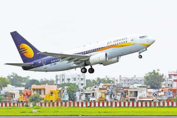 Jet Airways has been facing a financial crunchamid rising oil prices and a depreciating rupee. Photo: Reuters