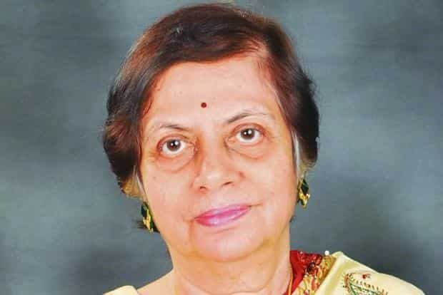 Former Supreme Court judge Sujata Manohar.