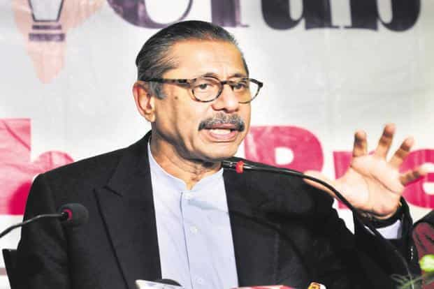 Medanta co-founder Naresh Trehan. Manipal Health Enterprise and TPG Capital is likely to offer a valuation of ₹6,000 crore for Medanta. Photo: HT