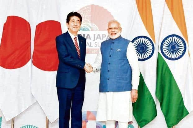 PM Narendra Modi will meet Japanese PM Shinzo Abe on Monday. PTI