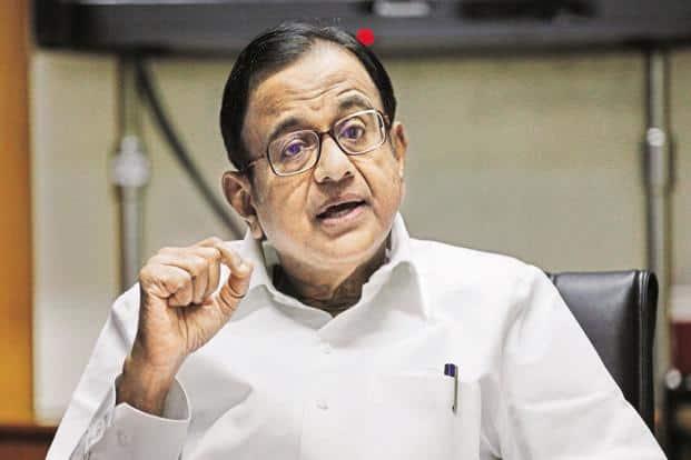 Former Union minister P Chidambaram. Photo: HT