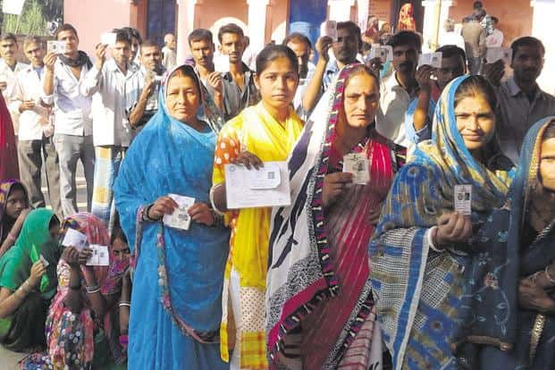 The assembly elections in Madhya Pradesh, Rajasthan, Chhattisgarh, Telangana and Mizoram will be a virtual semi-final before the 2019 Lok Sabha elections. Photo: HT