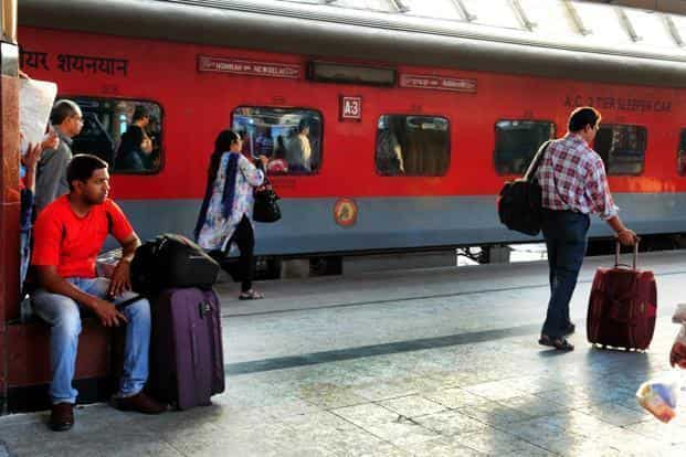 The New Delhi railway station alone witnesses a daily footfall of up to six lakhs during these festivals. Photo: Mint