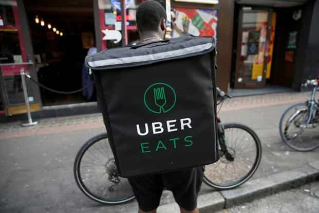 The number of food delivery app downloads is up 380 percent compared with three years ago, according to market-data firm App Annie. Photo: Reuters