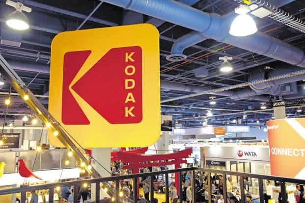 Kodak's share price soared 89% after it launched Kodak One as a cryptocurrency using blockchain. Photo: Reuters